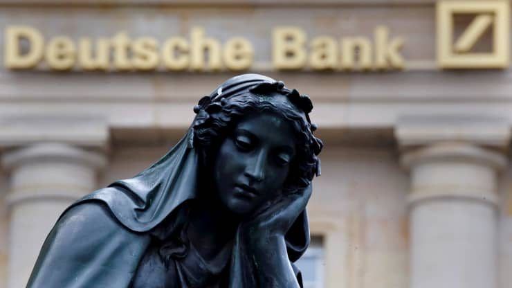 Deutsche Bank posts net loss of 5.3 billion euros for 2019 amid major restructuring