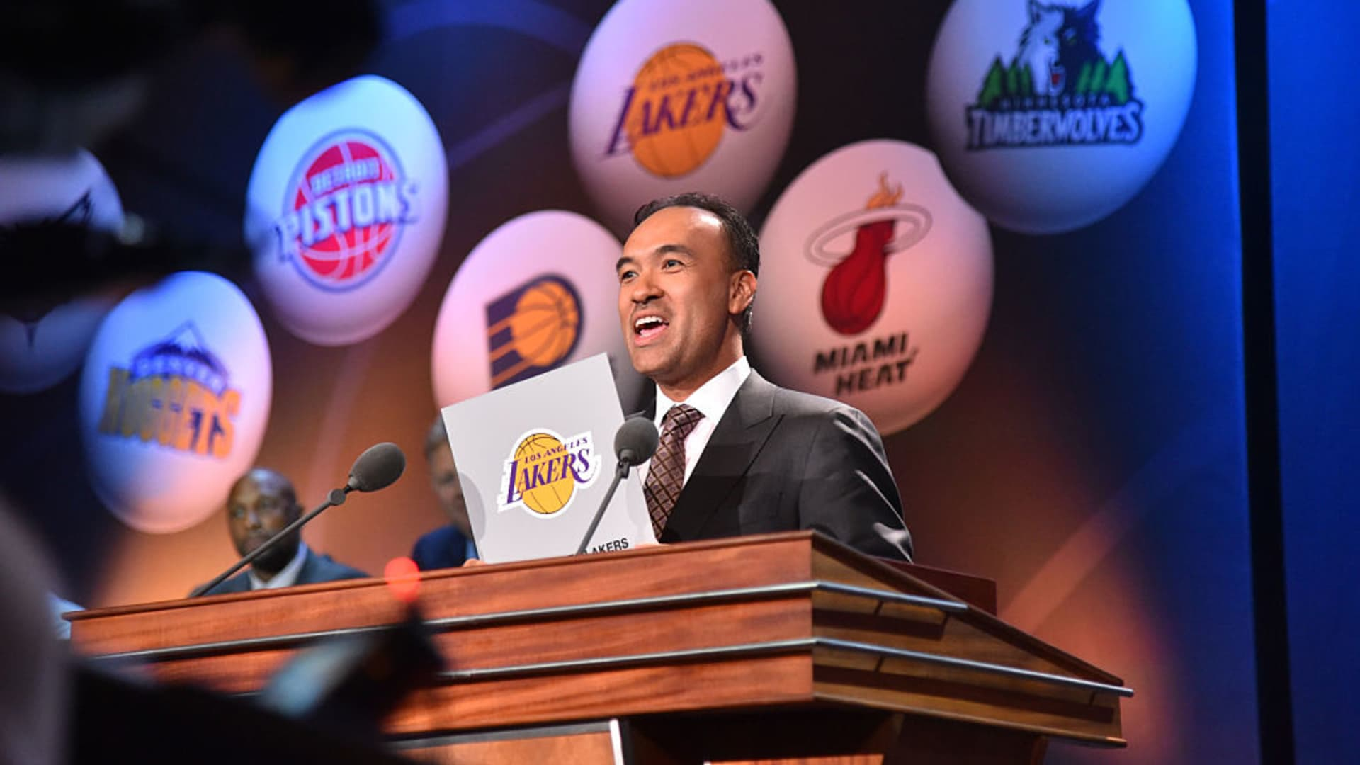 NBA Deputy Commissioner Mark Tatum.