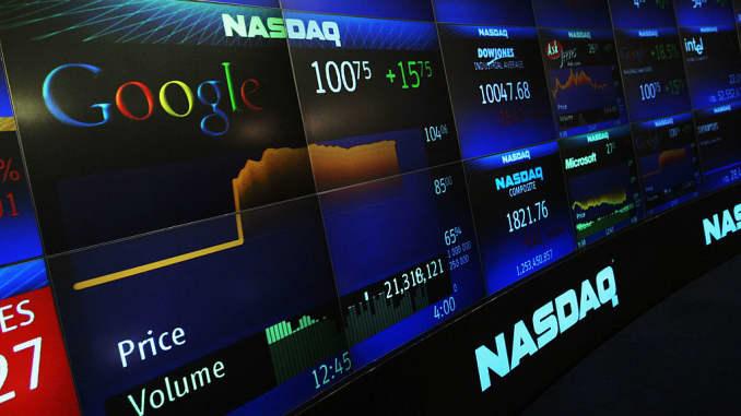 Data glitch: Google, Yahoo display incorrect stock market prices