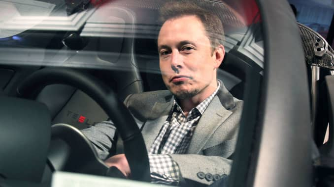 Elon Musk Tesla Will Have All Its Self Driving Car Features