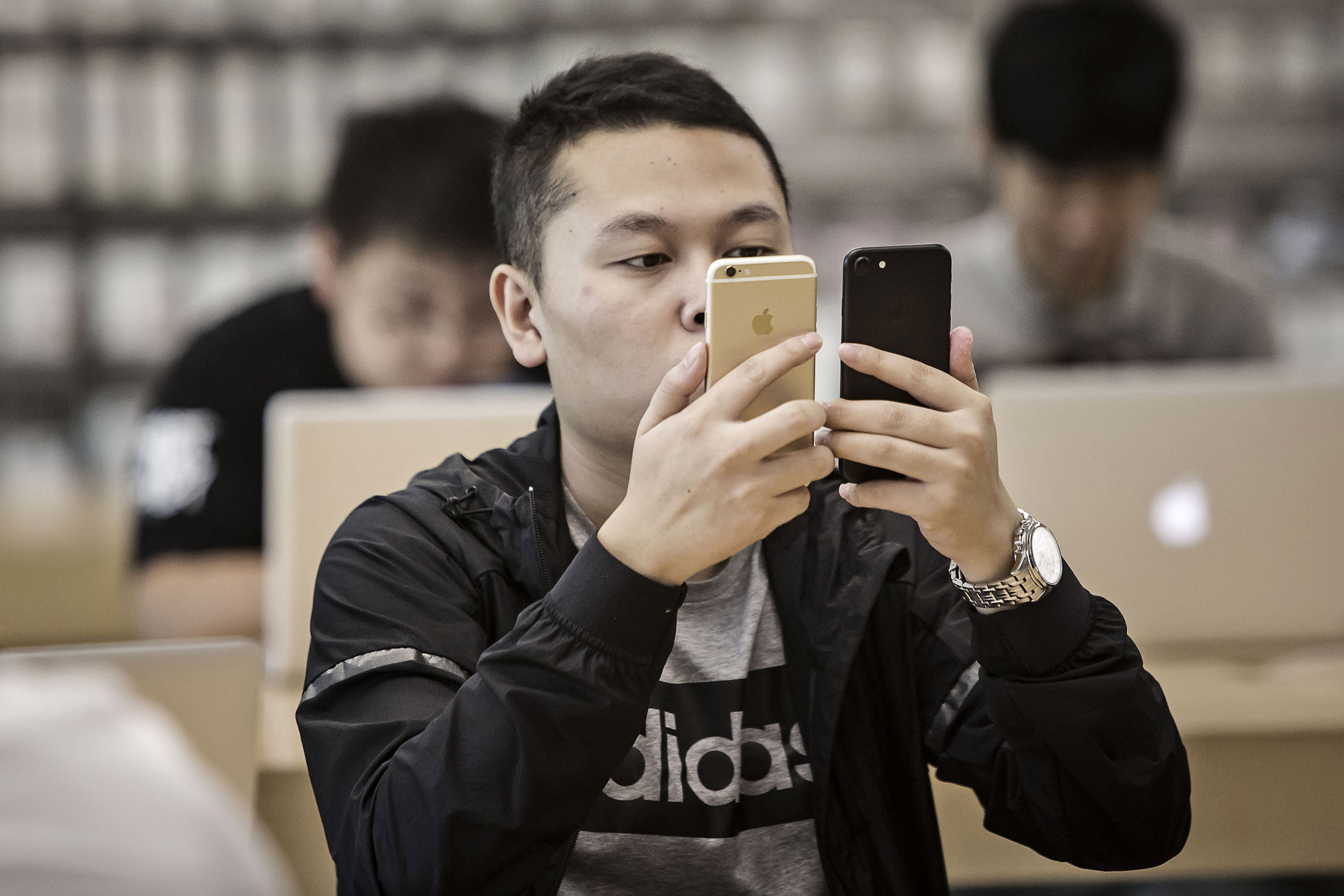 'I'm actually excited' about the iPhone's prospects in China, Jim Cramer says