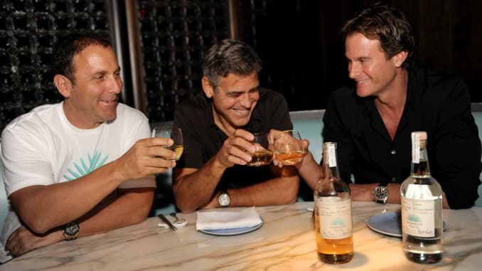 George Clooney accidentally started a tequila company worth