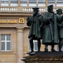 Deutsche Bank posts second quarter net loss of 3.15 billion euros amid restructuring costs