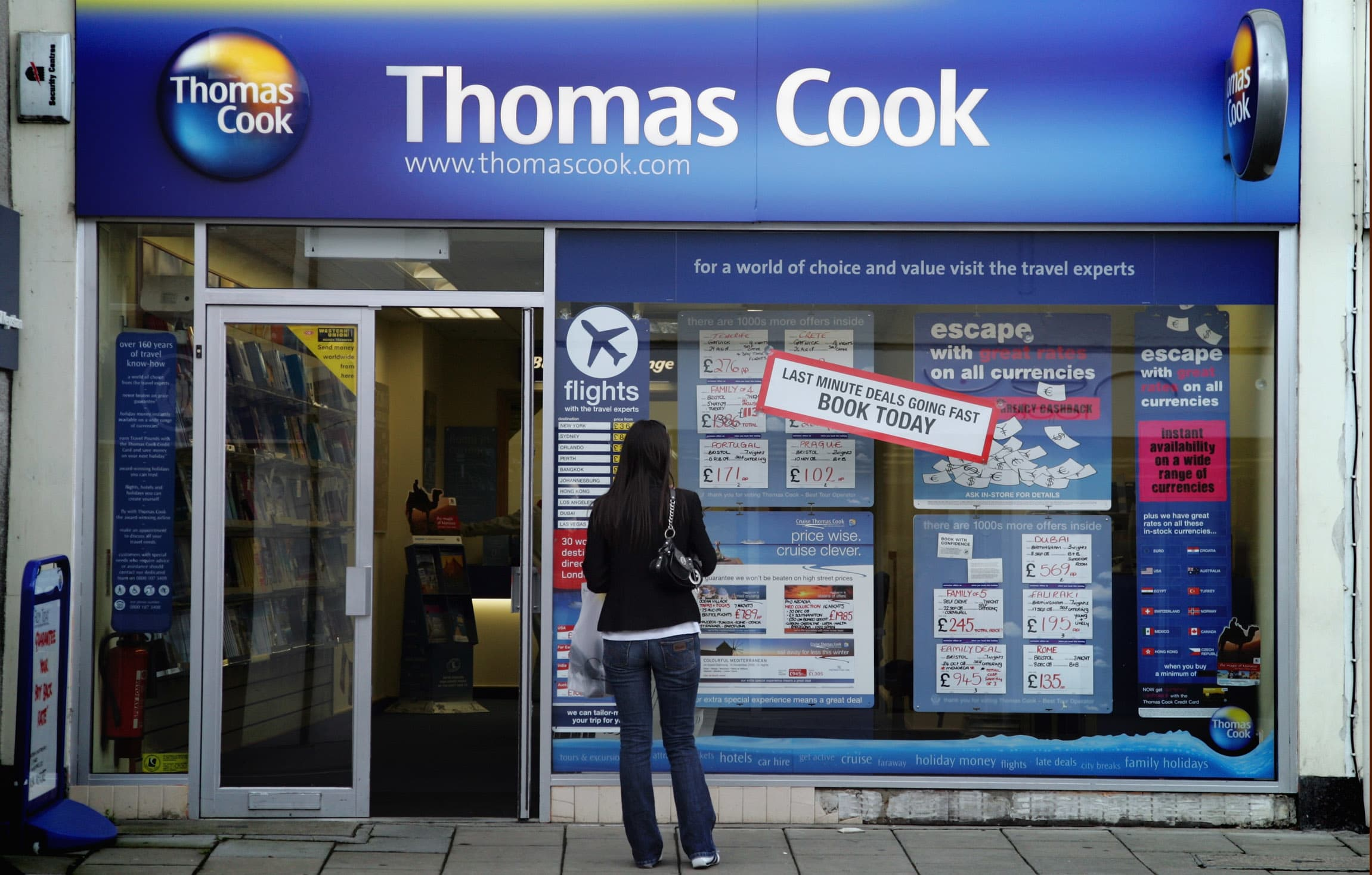 Hays Travel to buy Thomas Cook's UK stores, government agency says