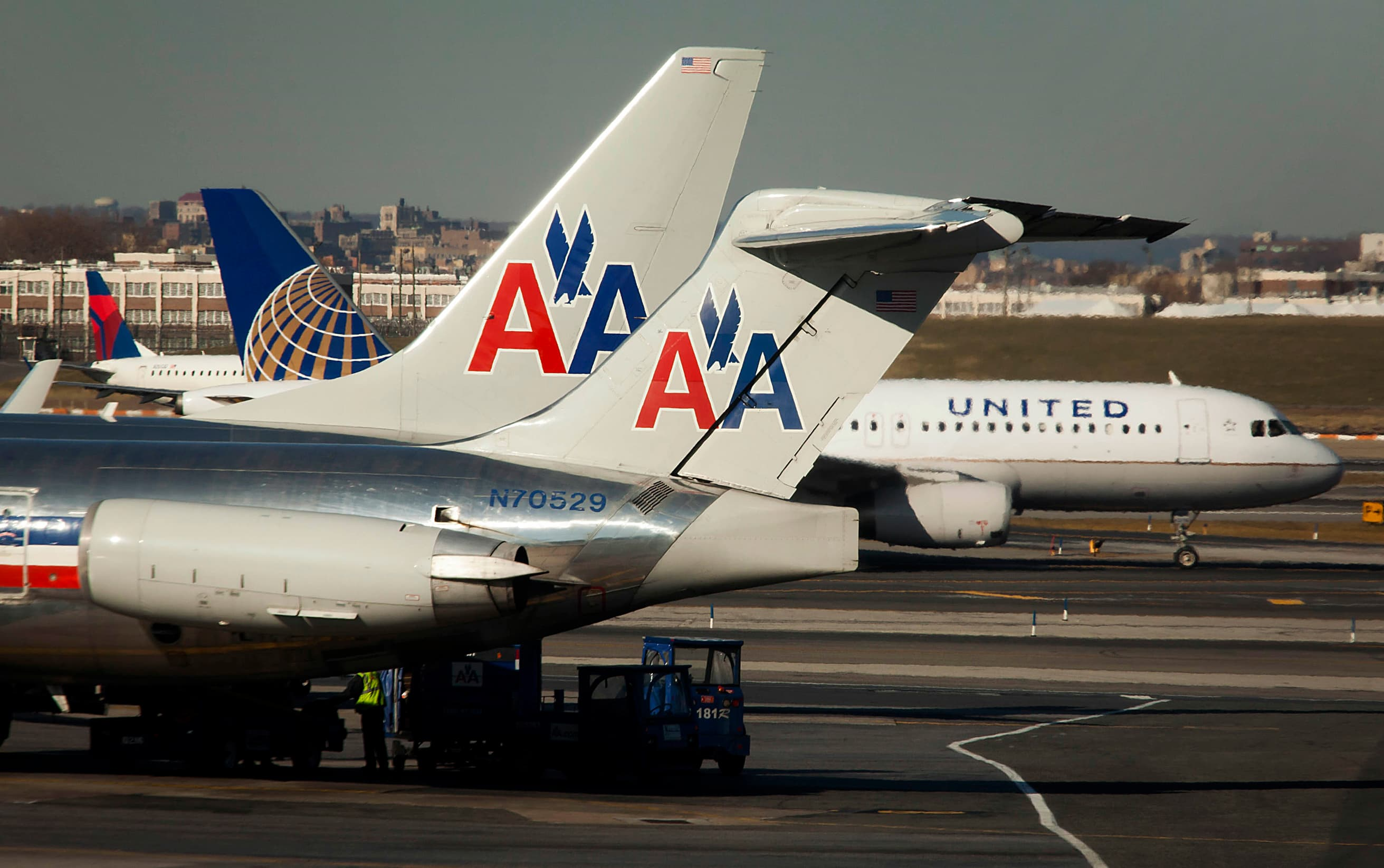 Consolidating flights to US cities could help stem airline losses