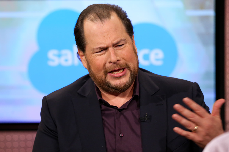Salesforce co-CEO: $30 billion in revenue is 'right around ...
