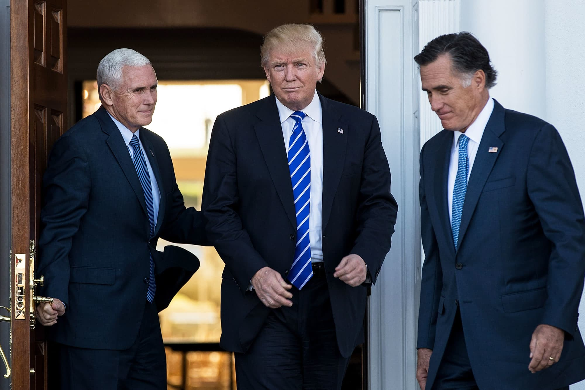 Trump Meets With Mitt Romney One Of His Harshest Republican Critics