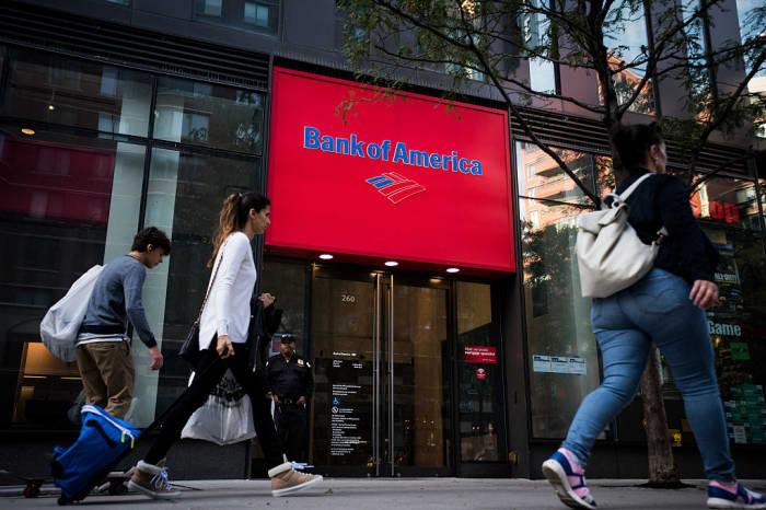 GP: A Bank Of America Corp. Bank Branch Ahead Of Earnings Figures