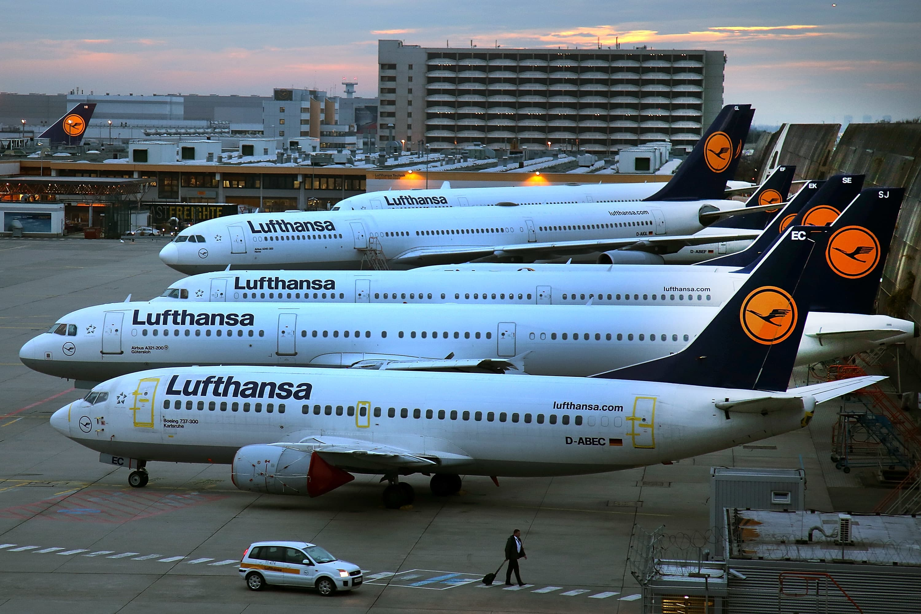 Europe's airline sector is prime for consolidation: Lufthansa CEO
