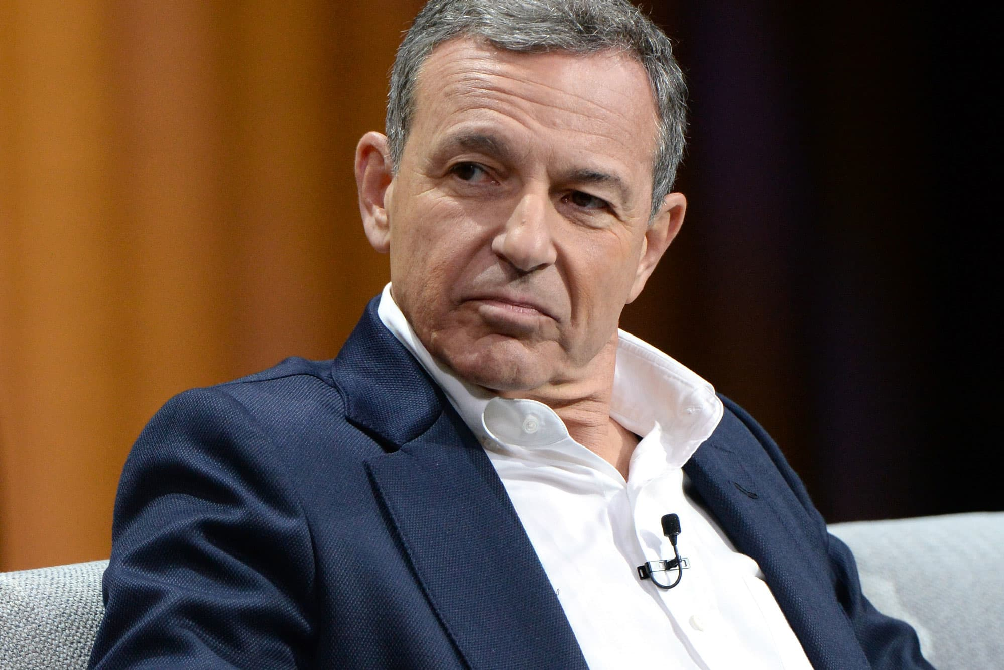 CEO of the Walt Disney Company, Bob Iger.