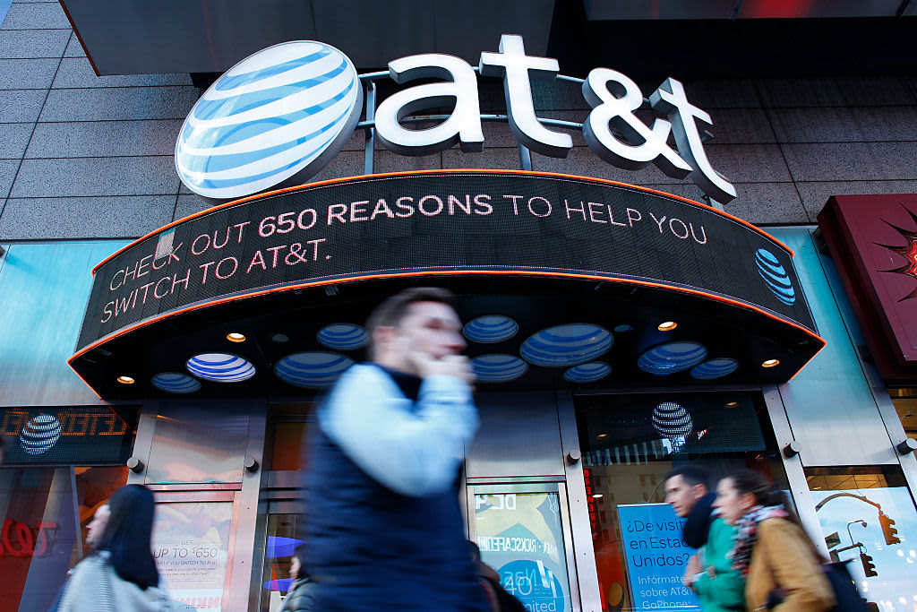AT&T shares can go 'much, much higher' from here if management can deliver, Jim Cramer says