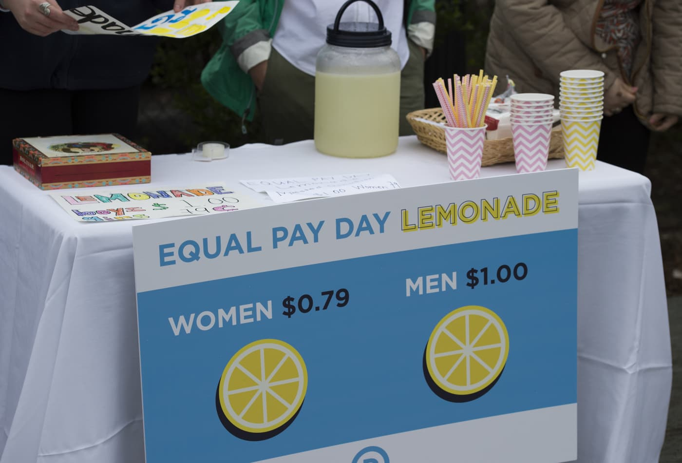 Men still earn more than women with the same jobs