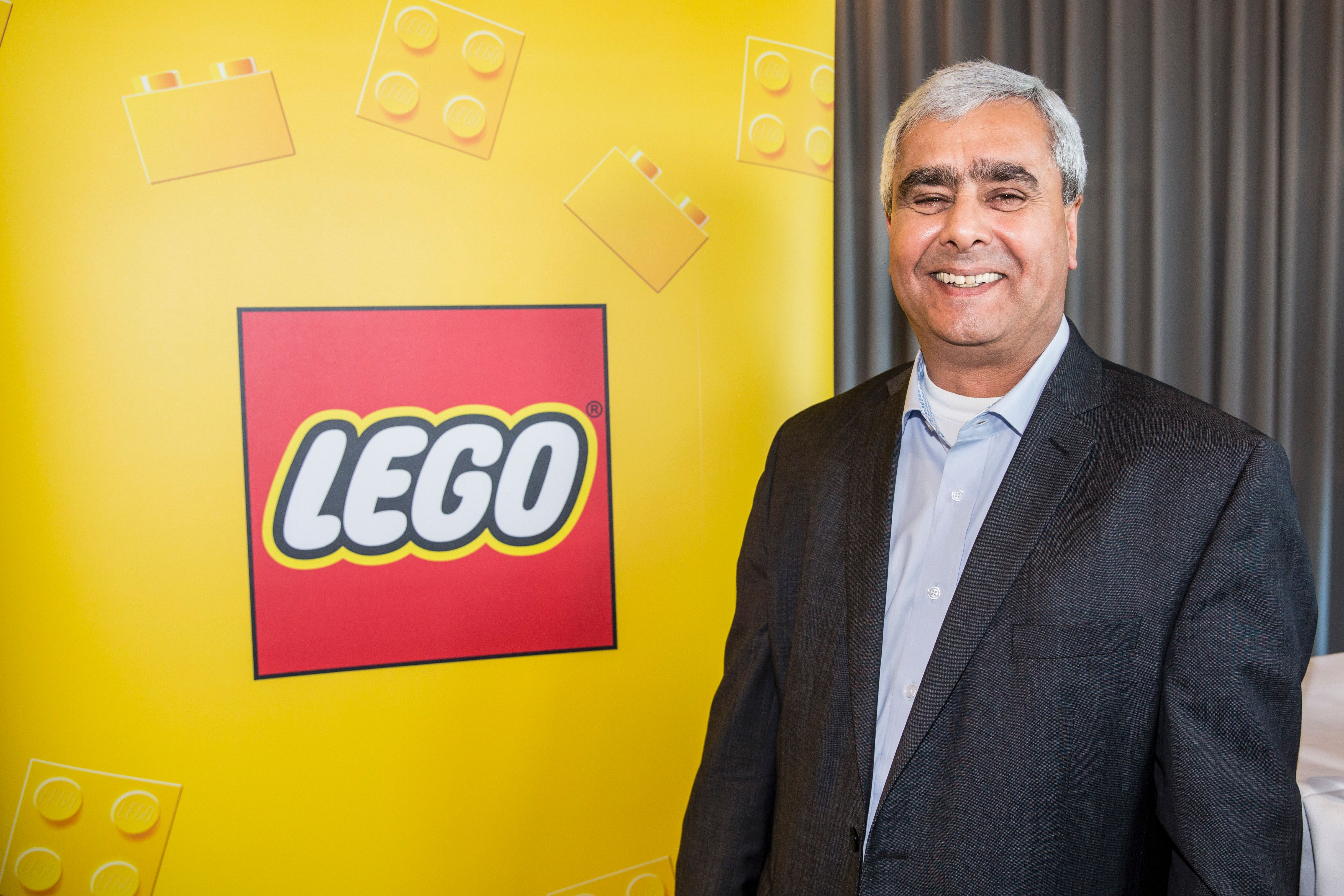 Not being Danish is not an issue for me, says Lego's