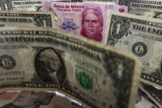 Mexican peso strengthens against US dollar after Trump speech