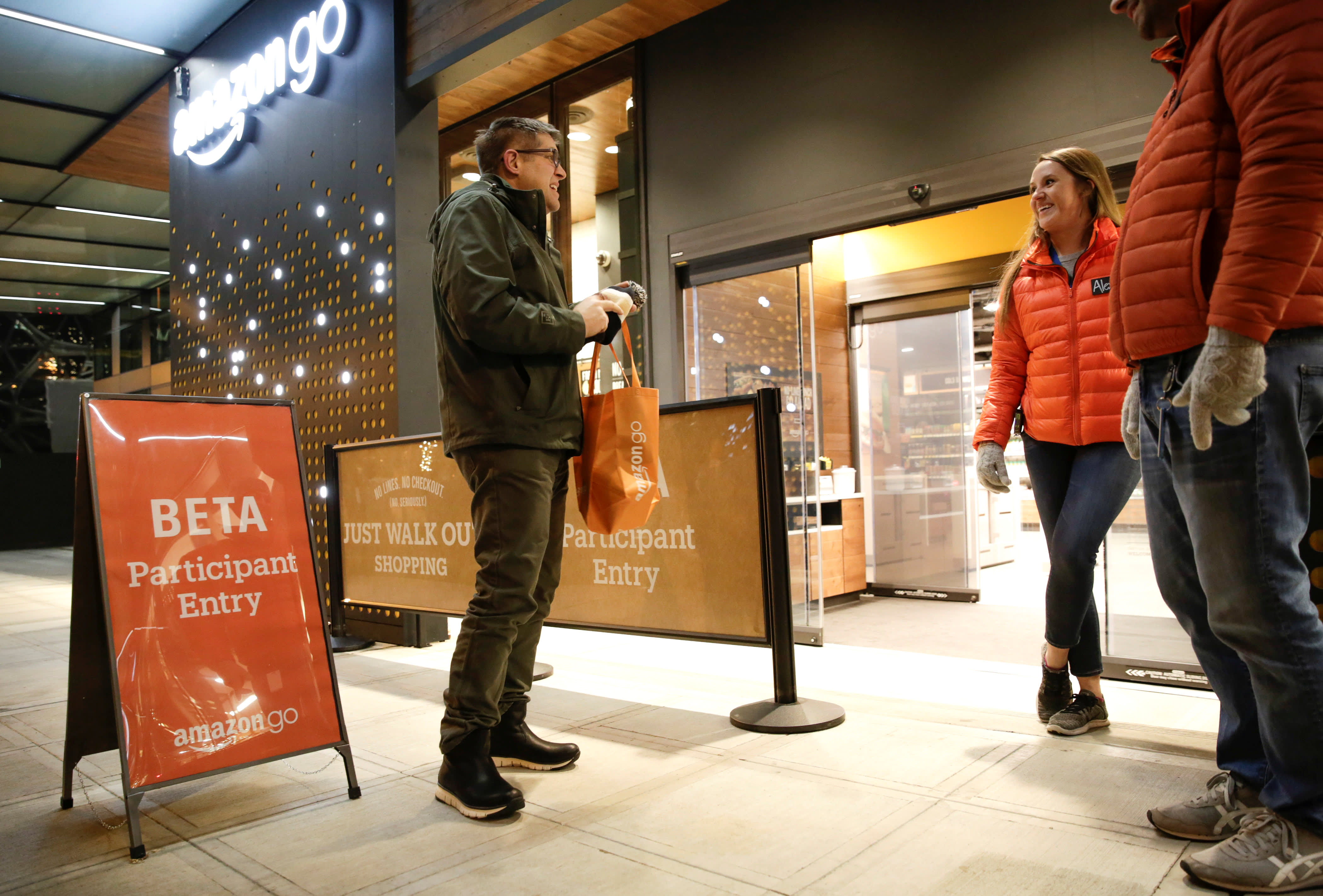 Will Amazon Go replace jobs? 'I don't think we can stop it