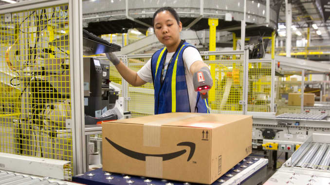 Amazon has started its delivery service in Australia