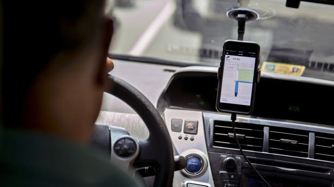 Uber and Lyft grab more business from taxis and rental cars