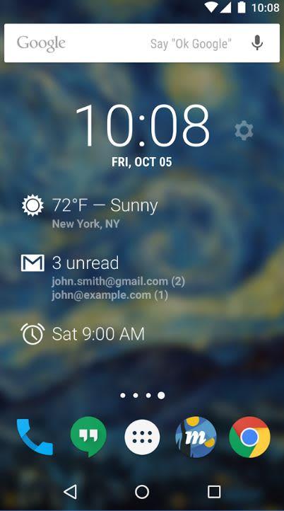 Handout: Dashclock Widget app