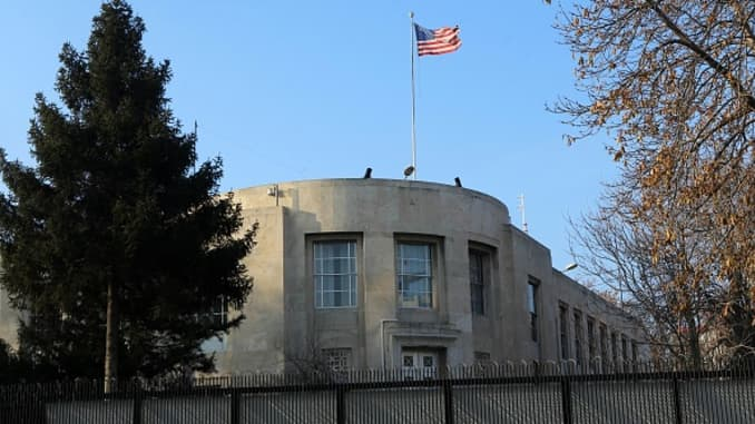 Shots outside US embassy in Turkey after Russia envoy killed