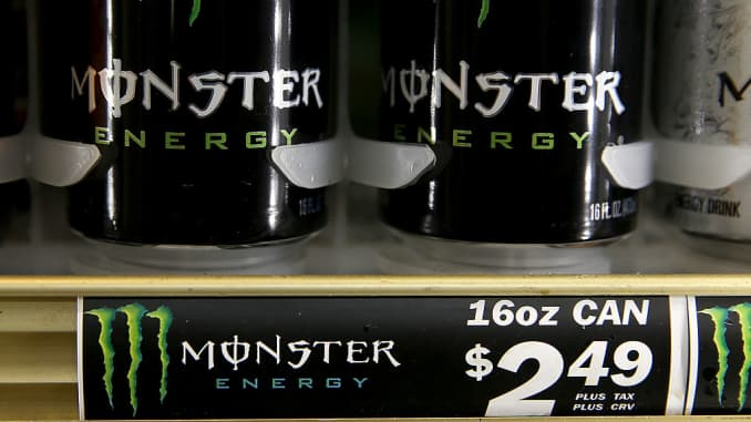 Buy Monster Beverage on Trump's tax reform, valuation