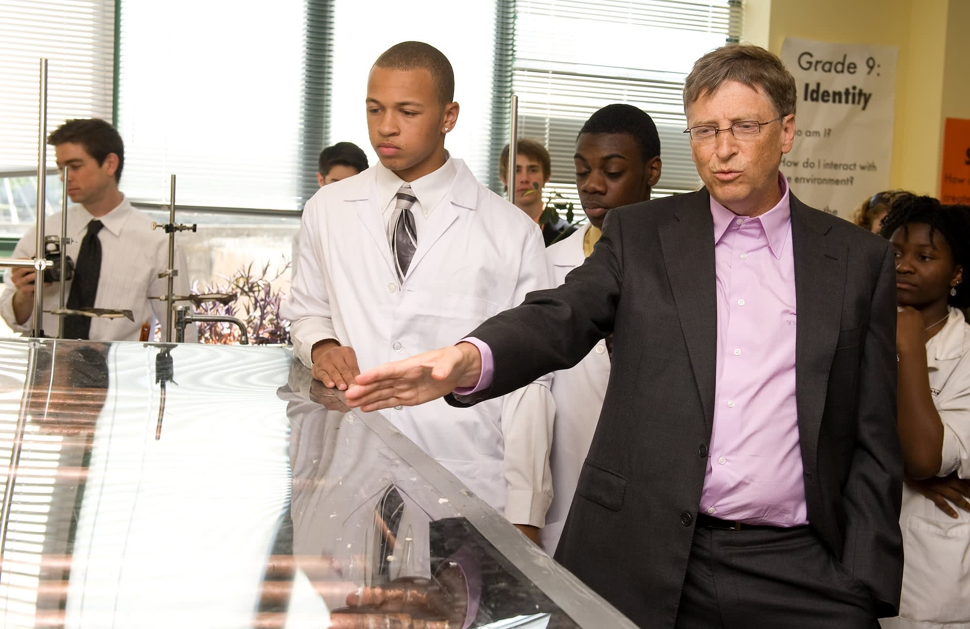 Bill Gates says people with these 3 skills will be successful in the future job market