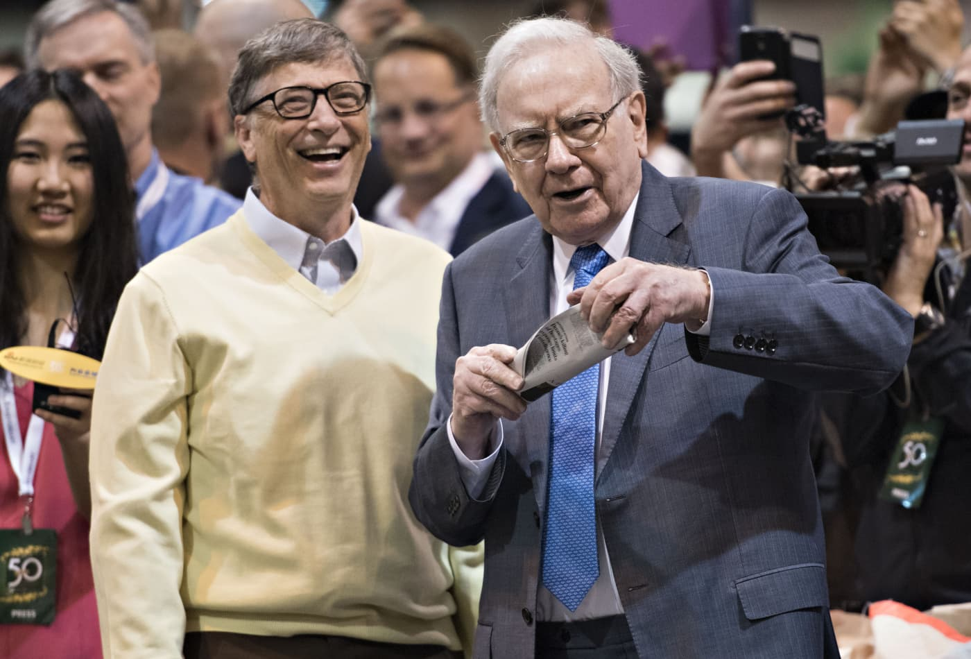 warren buffett  friends