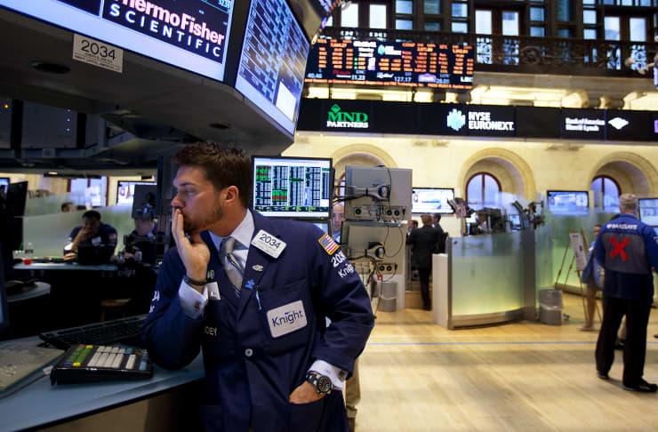 PREMIUM EA: Bond investor gazing off into distance