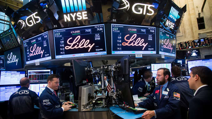GP: Trading On The Floor Of The NYSE Lilly
