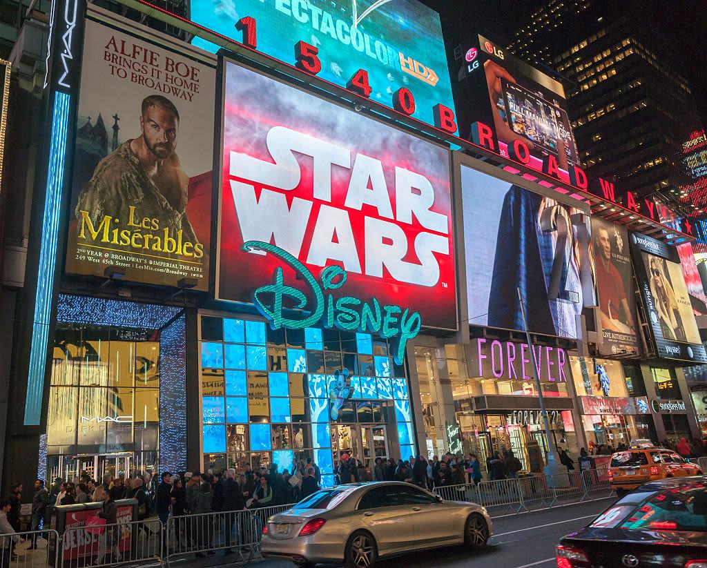 Star Wars helps make Disney $57 billion in licensed products