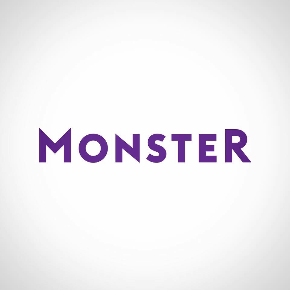 ONE TIME USE Handout: Monster logo