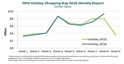 ONE TIME USE: NDP Holiday Shopping Bag