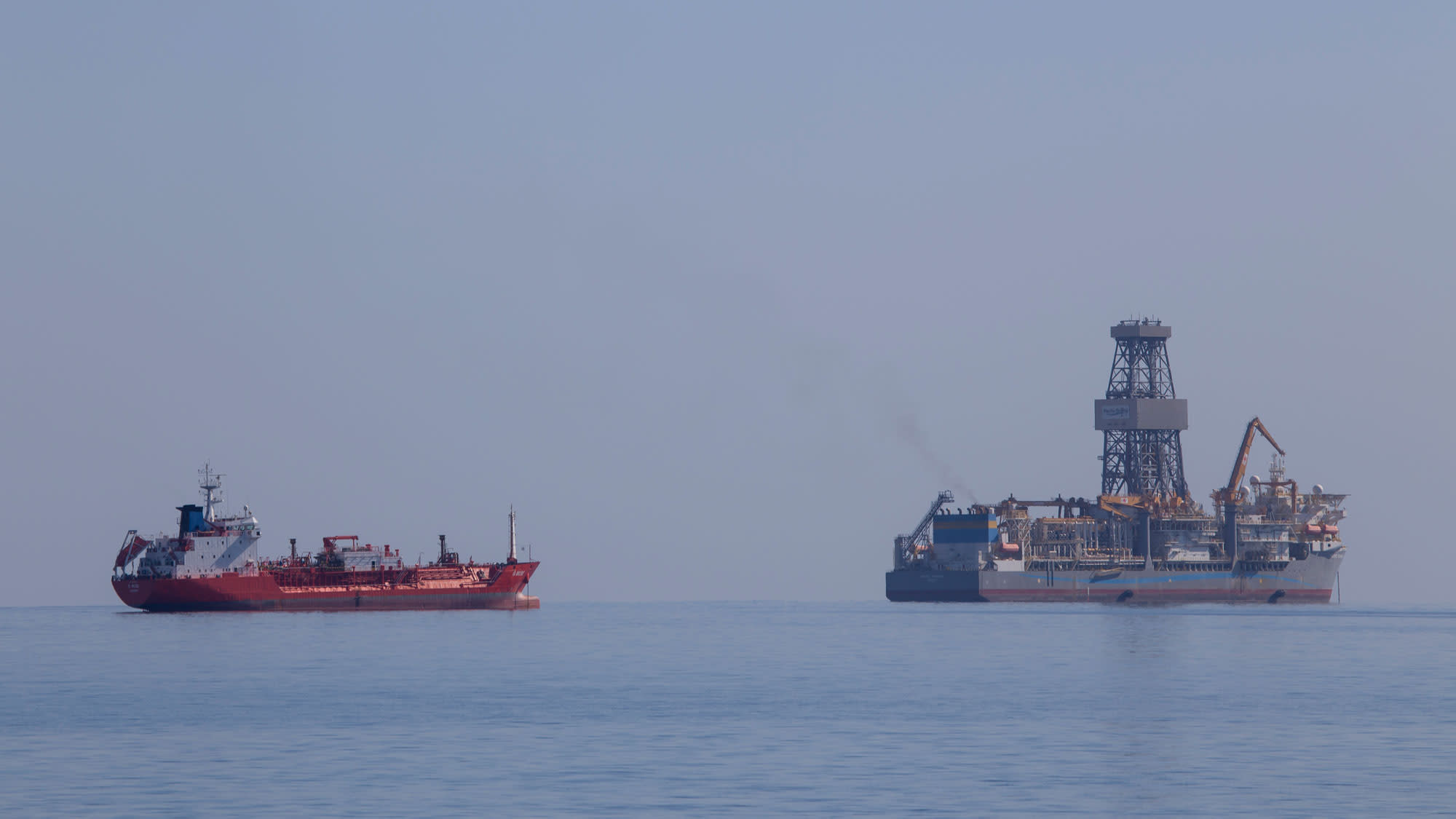 Premium: Pacific Khamsin off-shore gas Cyprus 161104