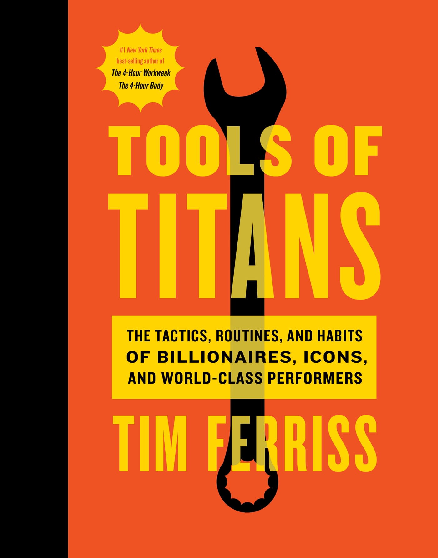 HANDOUT Tools of Titans book cover