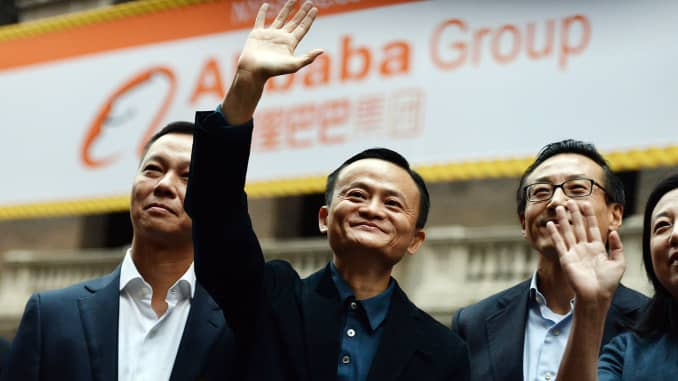 GP: Jack Ma Alibaba Group IPO NYSE 140914