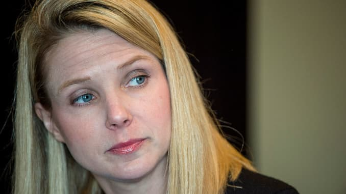 Yahoo execs including Mayer are out in Verizon's new