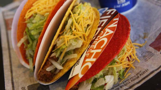 Premium EA: Doritos Locos Tacos Taco Bell food