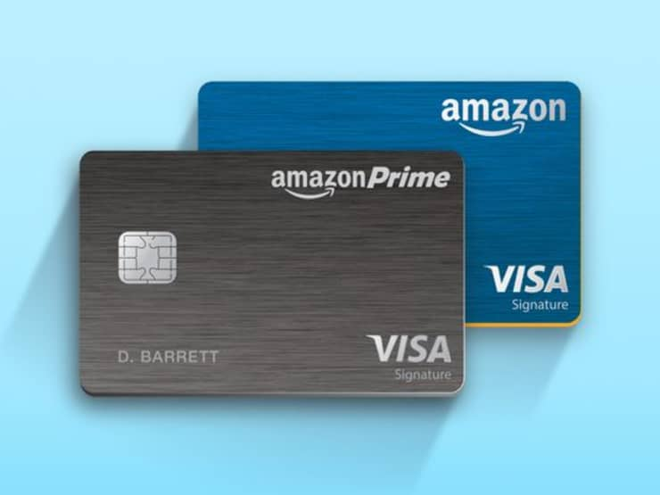 Handout: Amazon Prime credit cards