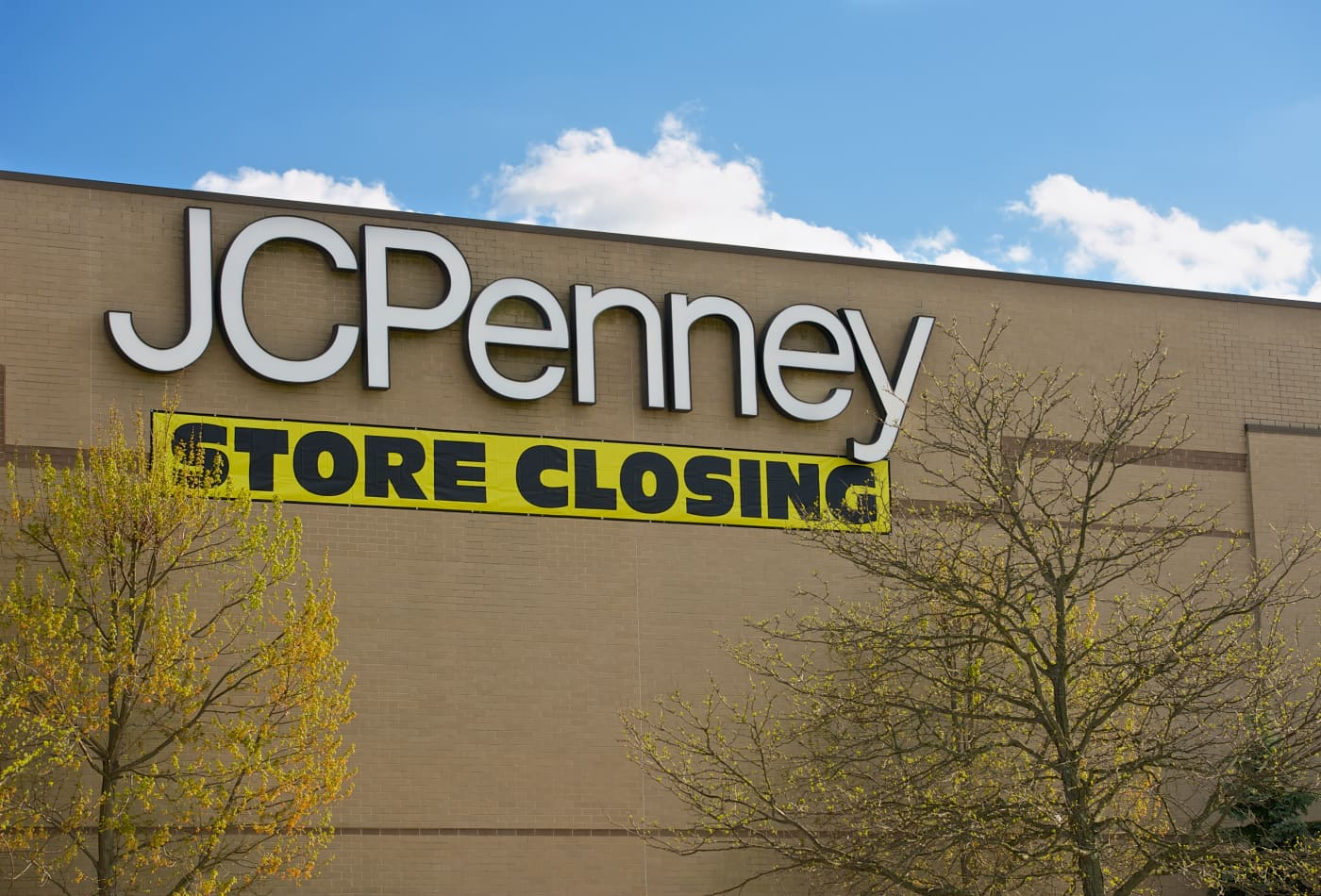 JC Penney to kick off store closing sales in June