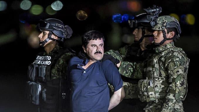 Drug kingpin El Chapo sentenced to life, accuses government ...