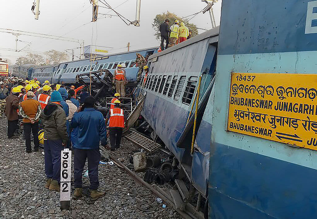 India train accident: At least 36 killed as Hirakhand ...  Indian Railway Accidents