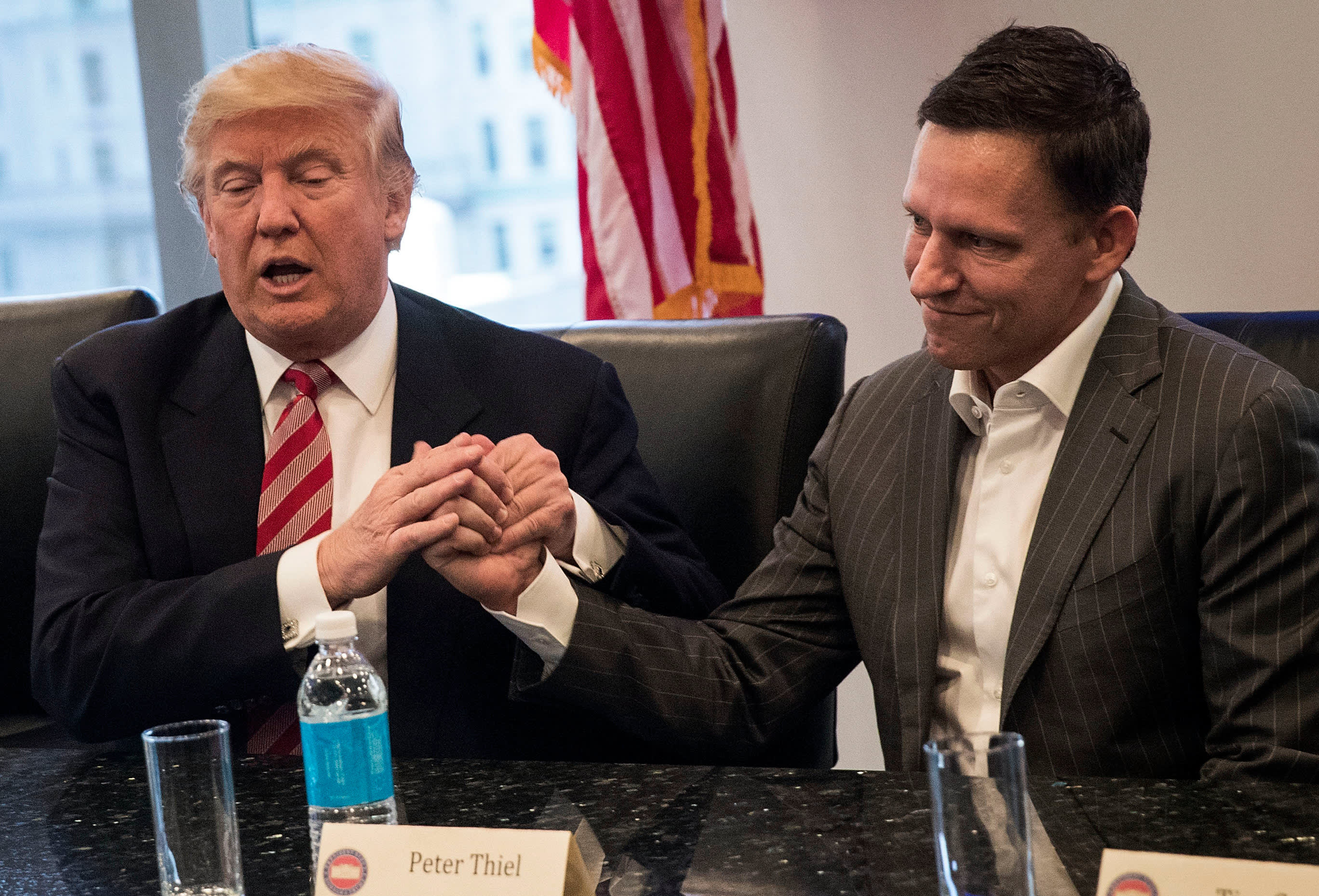 Thiel's Palantir could aid in immigration crackdown