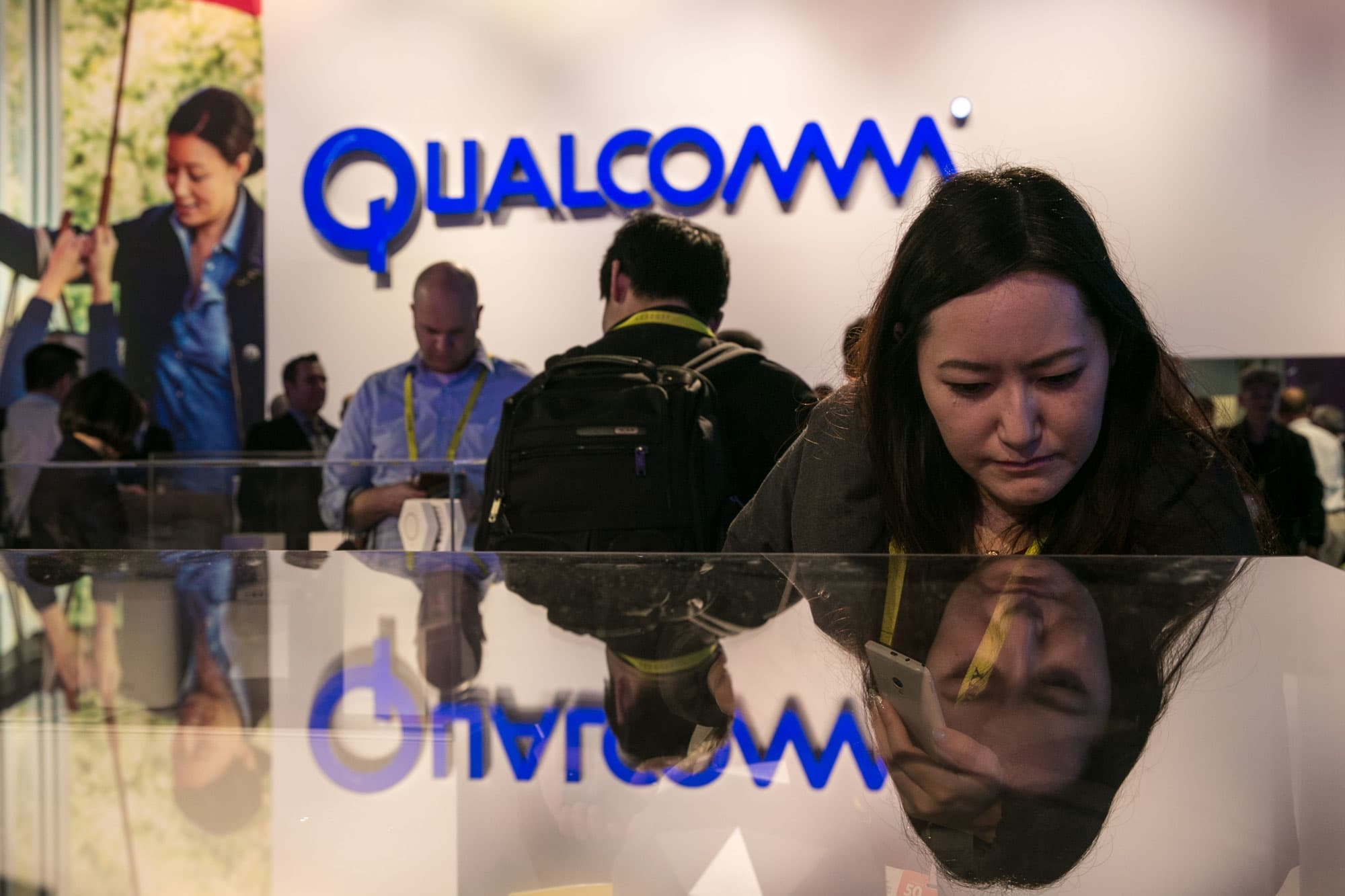 GP: Qualcomm booth at CES 170104