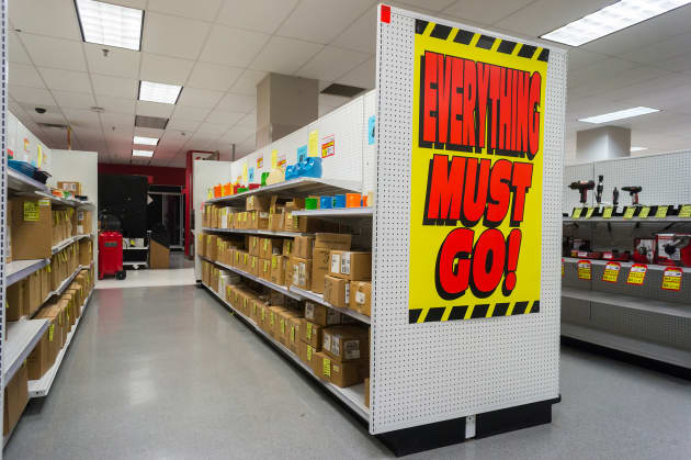 31bea54ddb01 Premium  Sears store closing everything must go signage Bronx New York