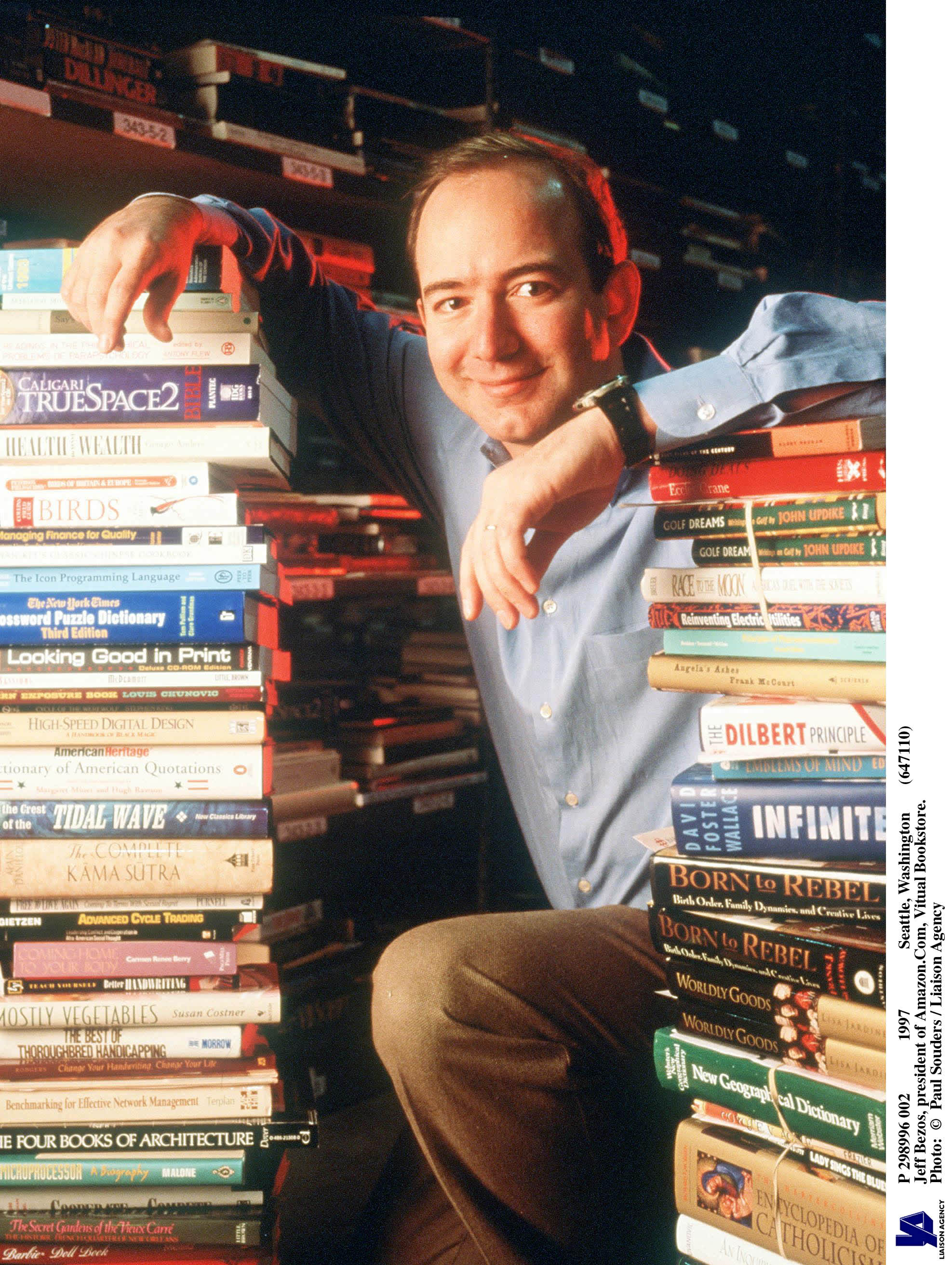 Amazon launched 25 years ago today: Here are 3 of billionaire Jeff Bezos' secrets to success thumbnail