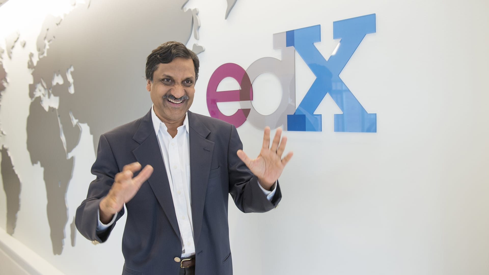 Anant Agarwal, CEO of EdX, and Professor of Electrical Engineering and Computer Science at MIT