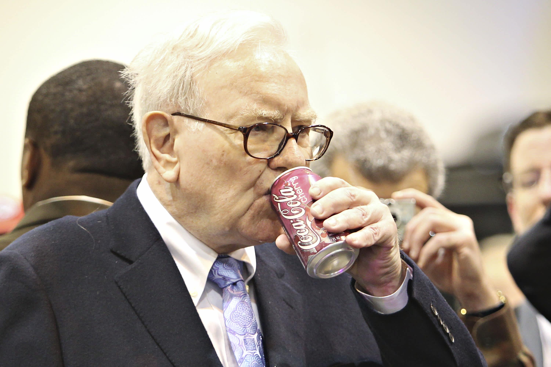 Image result for warren buffett eating mcdonalds