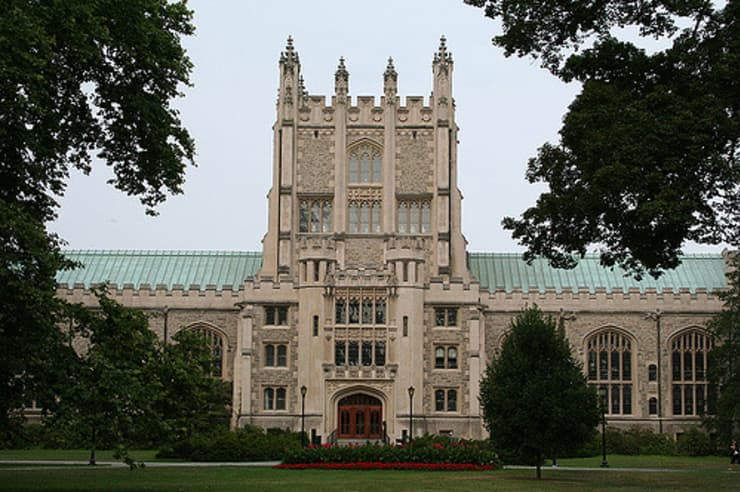 One time use: Vassar College campus