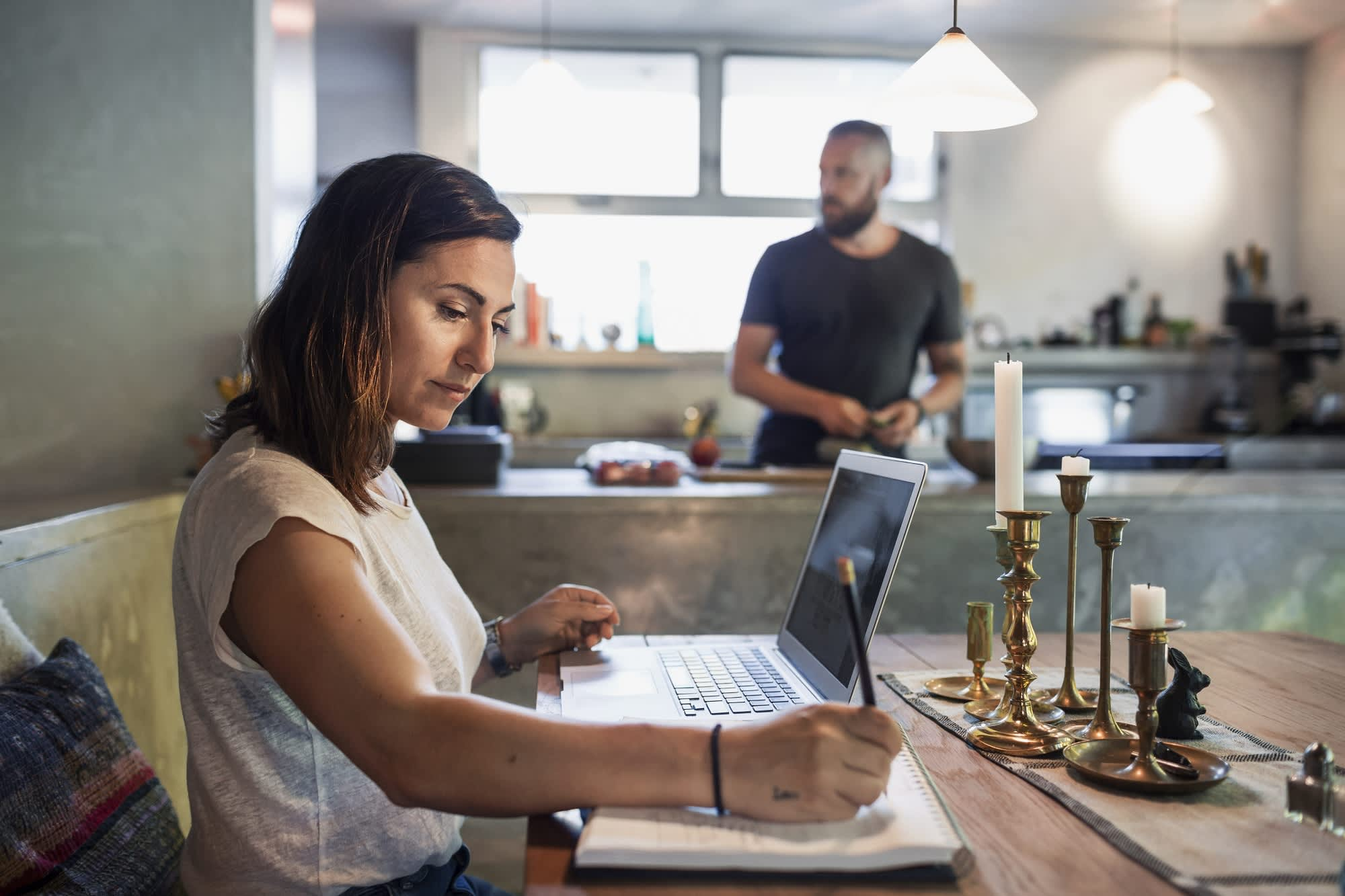 9 work-from-home executive jobs that pay $100,000 or more