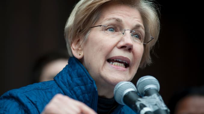 Premium: Elizabeth Warren speaking 170129