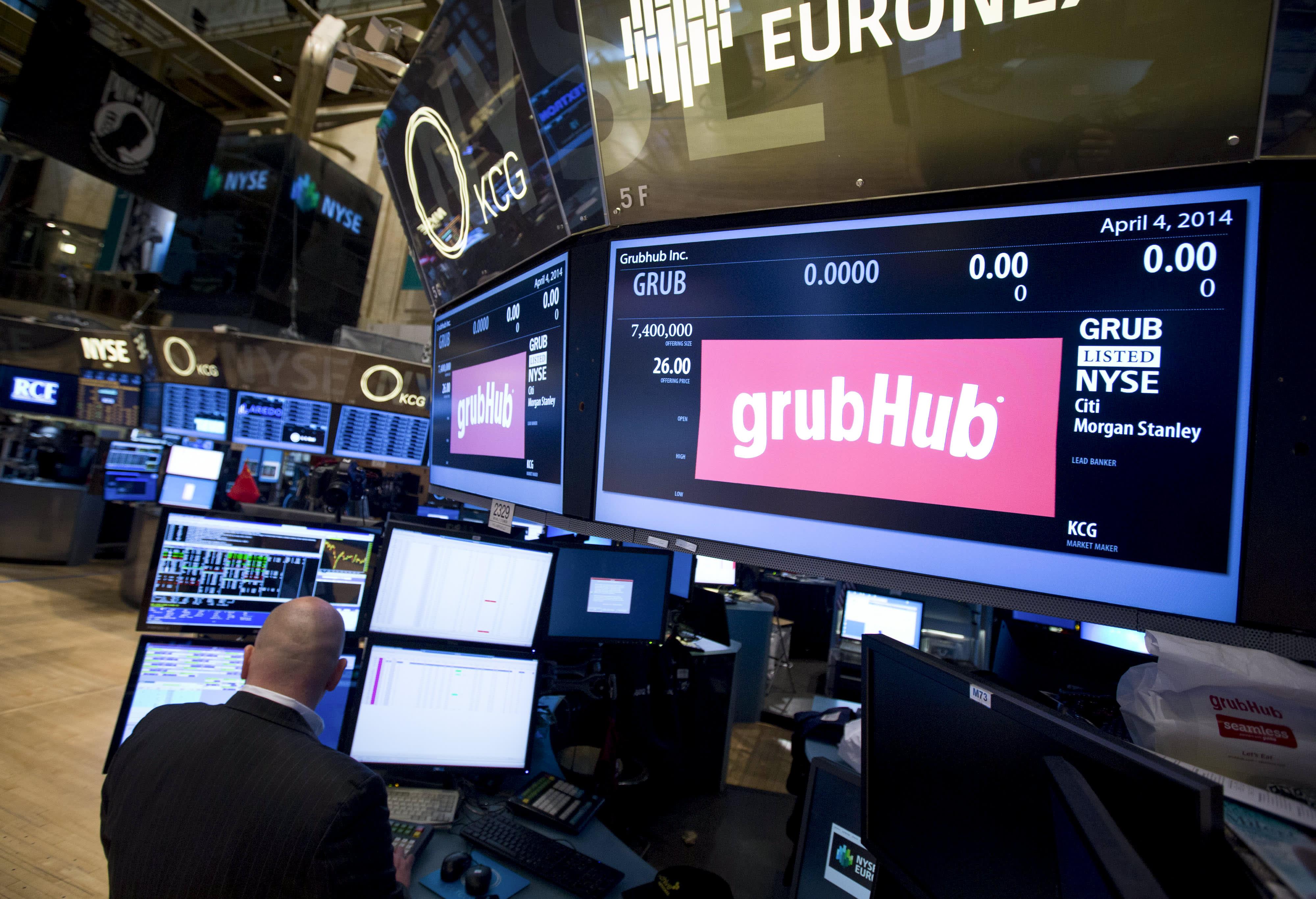 Grubhub, Casper Sleep, BlackRock, Datadog and more